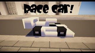 How To Make Ferrari Formula Car Minecraft Vehicle Tutorial