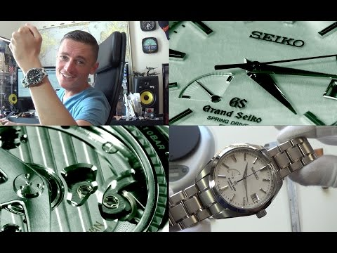 Japanese Perfection - The Grand Seiko Snowflake Spring Drive Luxury Watch Review - Ref. SBGA011