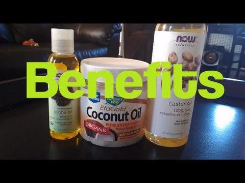 Hair Talk: Coconut Oil, Jojoba Oil, Castor Oil  RahKneeShuh