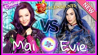 Disney Decendants 2 Dove Cameron VS Sofia Carson Musical.ly Battle 2017
