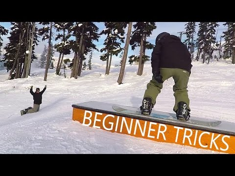 Beginner Snowboard Trick Progression with Chris & Doug