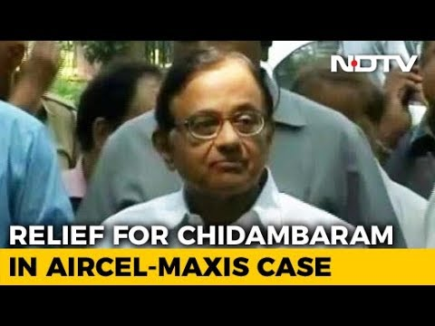 P Chidambaram Gets Relief In Aircel-Maxis Case