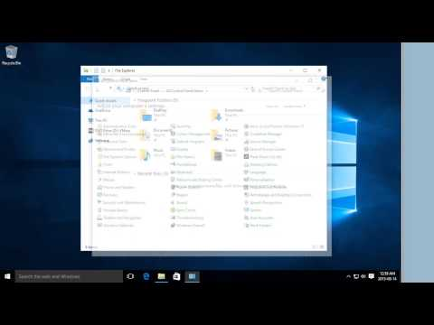 Windows 10 - How to Find the Control Panel - Traditional Control Panel in Windows 10