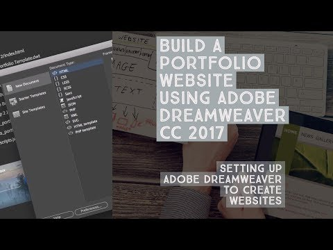 Setting up Adobe Dreamweaver to create websites - Dreamweaver Templates [3/38]