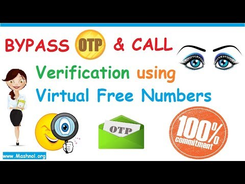 ByPass OTP Verification Using Virtual Phone Numbers [Working Method] | SMS & Call Verification