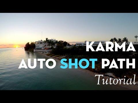 GoPro Karma Auto Shot Path Tutorial