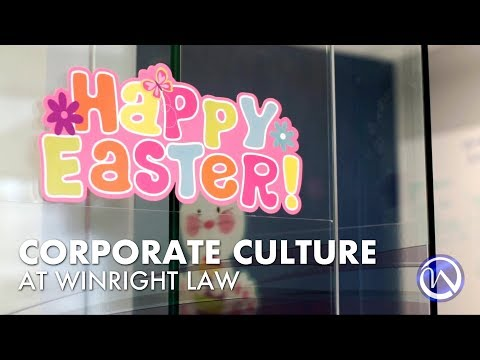 Corporate Culture at Winright Law - Easter 2018