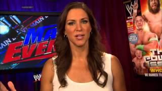 WWE Main Event - Stephanie gives Nikki Bella a tag team partner