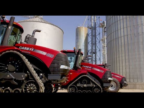 Introducing Case IH Steiger® Series Tractors with CVXDrive™ Continuously Variable Transmission