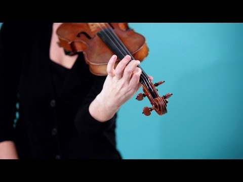 How to Position Your Left Hand | Violin Lessons