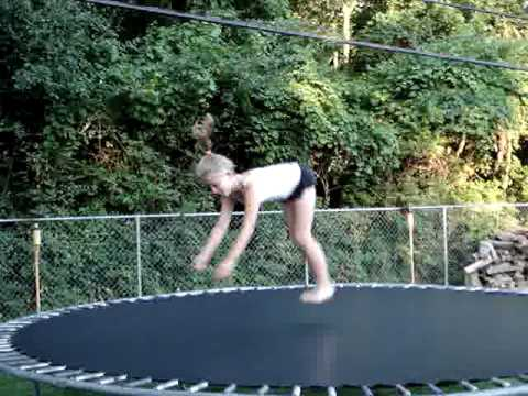 Flip Girl Keeps on Flipping