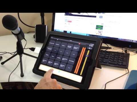 Audio-Technica ATR2100 Into BossJock Studio Podcast App for IOS iPad 2