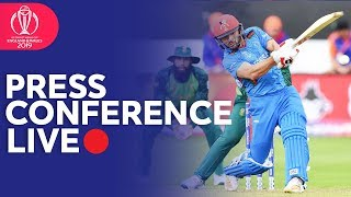 Post Match Press Conference South Africa VS Afghanistan | ICC Cricket World Cup 2019