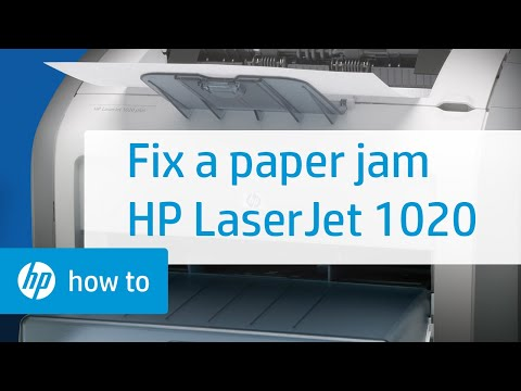 Fixing a Paper Jam - HP Photosmart C4280 All-in-One Printer