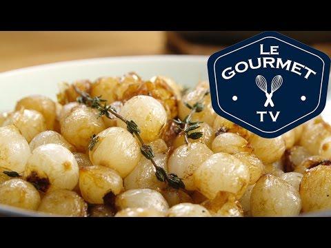 Wine Glazed Pearl Onions Recipe - LeGourmetTV