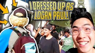 PRETENDING TO BE LOGAN PAUL!! (IT WORKED)