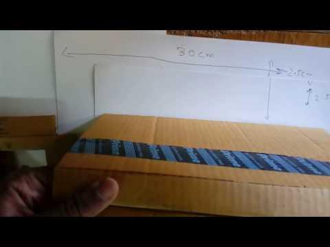 Make a pedal bin from cardboard