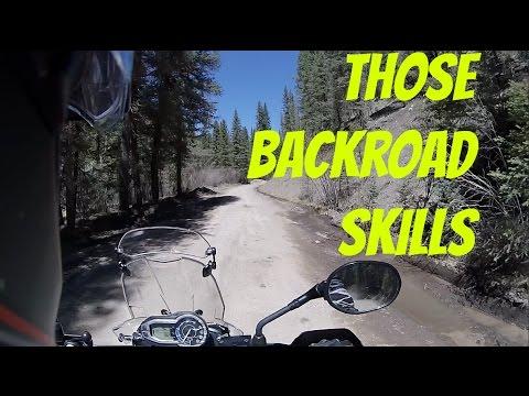 Lacking Any Backroad Riding Skills