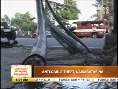 PH outlaws cable TV theft