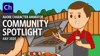 Community Spotlight - July 2020 (Adobe Character Animator)