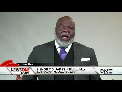 Bishop T.D. Jakes Talks 'SOAR!  Build Your Vision from the Ground Up'