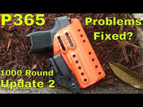 Sig P365 - Post 1000 Round Range Day Update: 2 - Is Sig Fixing The Problem?
