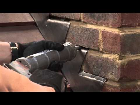 Installing flashings