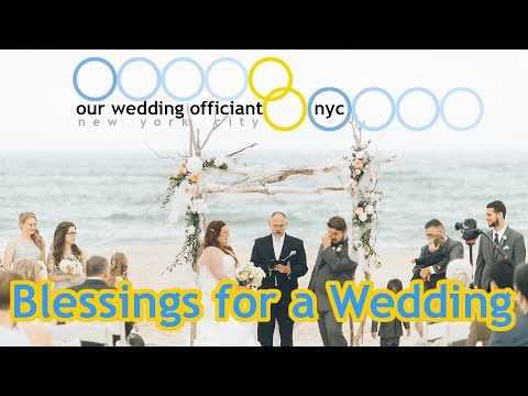 Blessings for a Wedding