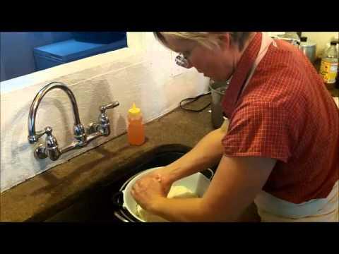 Making Mozzarella from Fresh Goat Milk