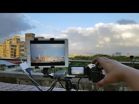 How To Turn Your iPad iPhone Into camcorder Screen