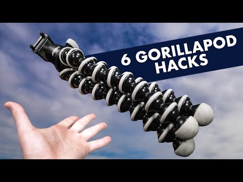 6 GorillaPod HACKS in 90 Seconds (2018)