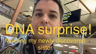 Meeting my Sister for the first time! Ancestry DNA test brings us together!