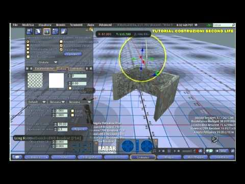 Tutorial costruzioni in Second Life