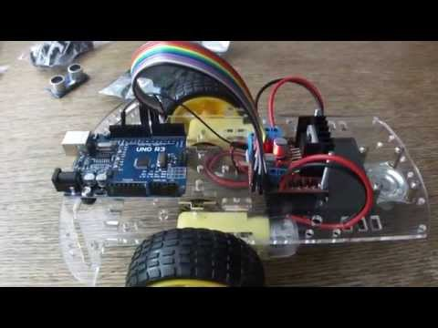 Basic Arduino Robot Car Kit + Motor driver L298N H-Bridge module