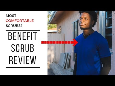 These Scrubs Are Epic!! Benefit Medical Apparel Scrub Review