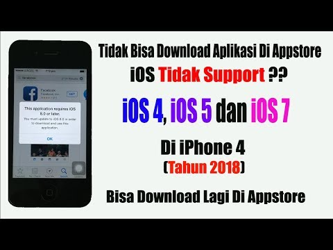 Cara Install Aplikasi Di iPhone 4 iOS 7.1.2