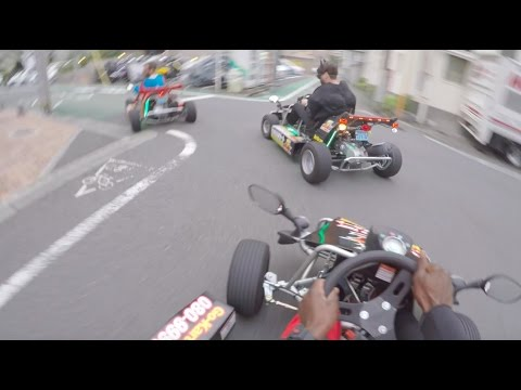 GoPro MARIO KARTING in SUPERHERO COSTUMES