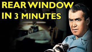 Movie Spoiler Alerts - Rear Window (1954) Video Summary