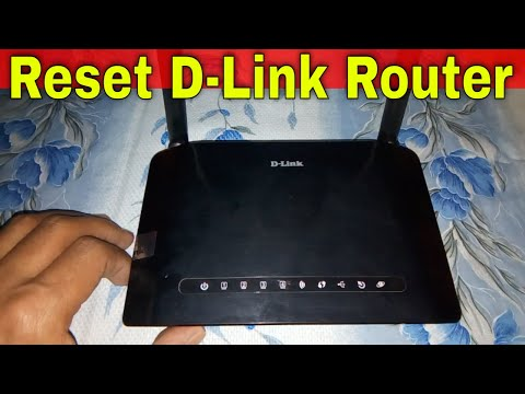 How to reset D-Link router?