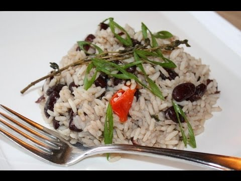 How To Make Jamaican Rice and Peas.