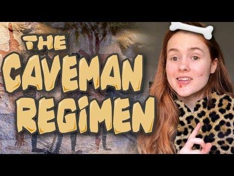 Caveman Regimen Helped my Cystic Acne (NO Skincare, NO Water, NO Makeup)