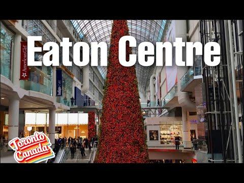 Christmas at Eaton Centre (Toronto)