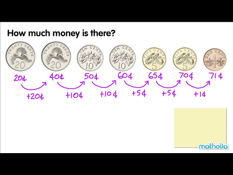 Counting Money in Cents