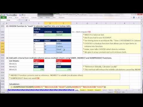 Ctrl + Shift + Enter: Excel Array Formulas Video # 24: 26 Amazing Array Formulas