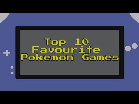 Top 10 Favourite Pokemon Games