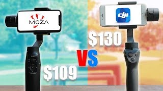 Dji Osmo Mobile 2 Vs Moza Mini Mi - 2018 Best Budget Gimbal