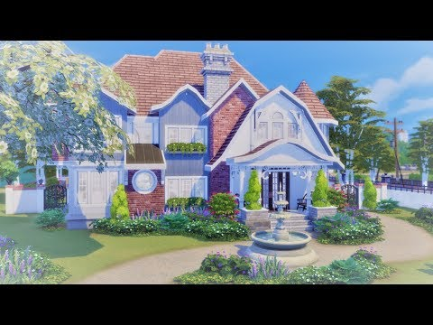 Newport Cottage || The Sims 4 Family Home - Speed Build