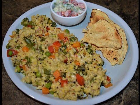 Oats Vegetable Khichdi Recipe ( ओट्स वेजिटेबल खिचड़ी )