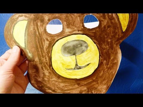 Make a Bear Mask for Home Theater with Kids - DIY Crafts - Guidecentral