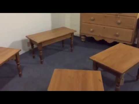 Pine Coffee Tables Made To Measure - Pinefinders Old Pine Furniture Warehouse